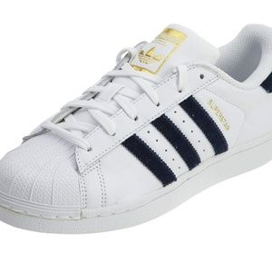 Adidas superstar 6.5 new blue and white women